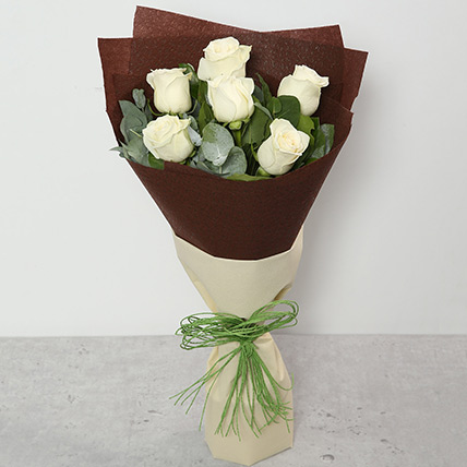 Bouquet Of White Roses BH: