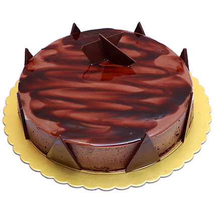 Delight Chocolate Ganache Cake: Gift Delivery Bahrain