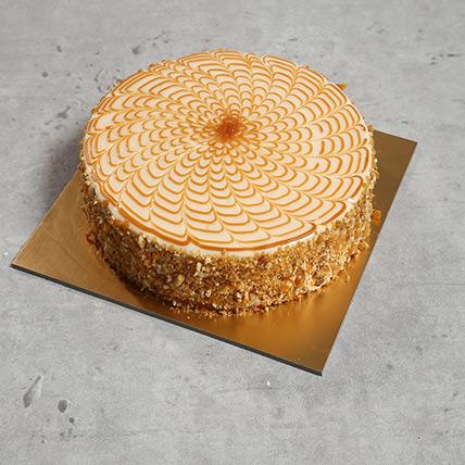 1Kg Yummy Butterscotch Cake: Send Cakes to Bangladesh
