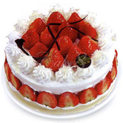 Fresh Fruit Cream Cake:  Cake Delivery In China