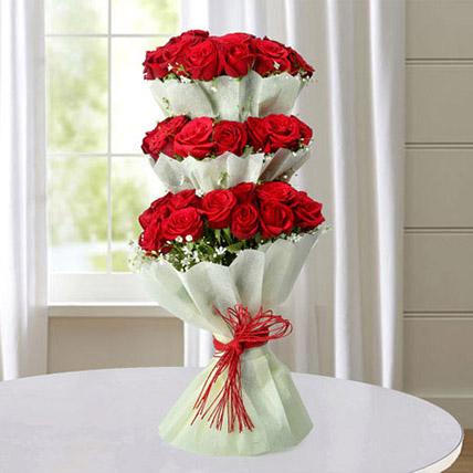 Multi Storied Roses EG: Egypt Gift Delivery