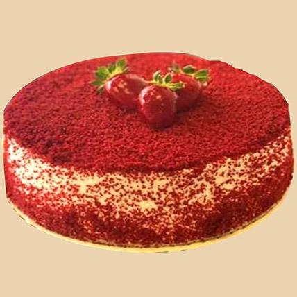 Smooth Red Velvet Cake: