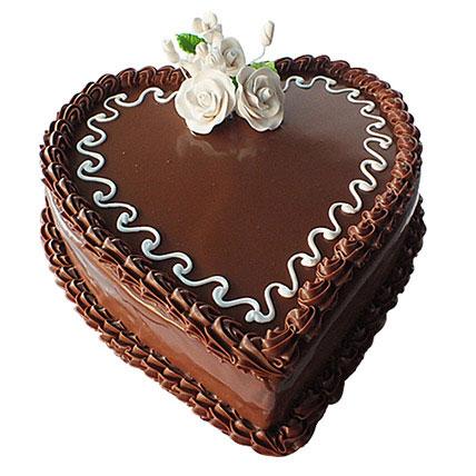Choco Heart Cake KT: