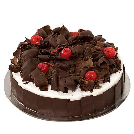 Delectable Black Forest Cake KT: