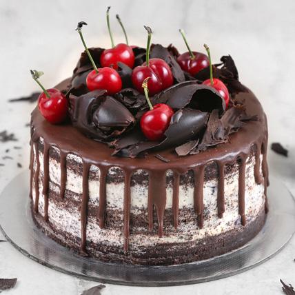 Delicate Black Forest Cake Half Kg: