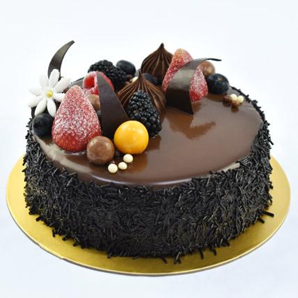 4 Portion Fudge Cake: Valentine Day Cakes to Dubai