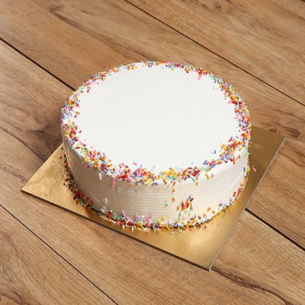 Eggless Rainbow Cake: Eggless Cakes
