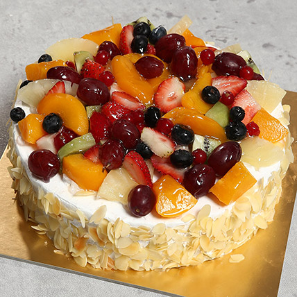 Fresh Fruit Fantasy: Anniversary Cakes for Parents