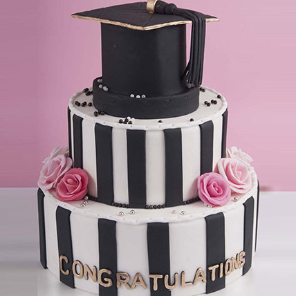 Graduation Hat Congratulations Cake 6 Kg: Congratulations Cakes