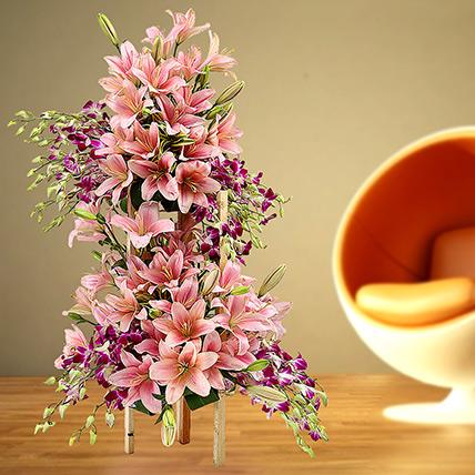 Grand Celebratory Bouquet: Orchid Flowers in Dubai