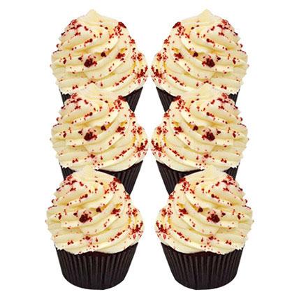 Romantic Red Velvet Cupcakes: Christmas Themed Cupcakes