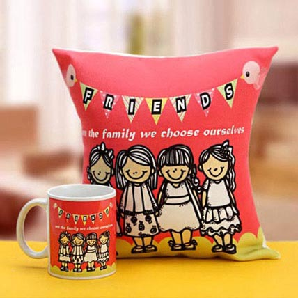 Soulmate Combo: Friendship Day Cushions