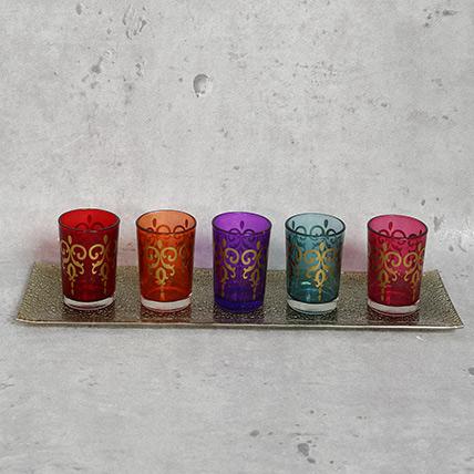T Light Holder Set: Christmas Gifts