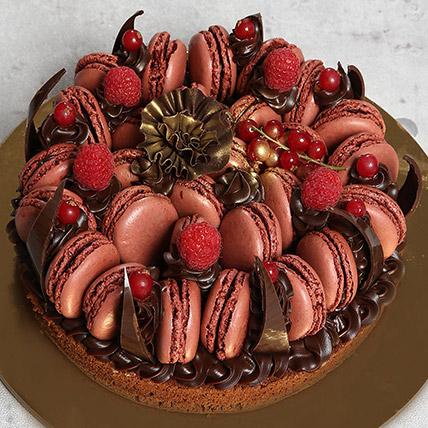 Tempting Choco Macronade Cake: Anniversary Cakes to Umm Al Quwain