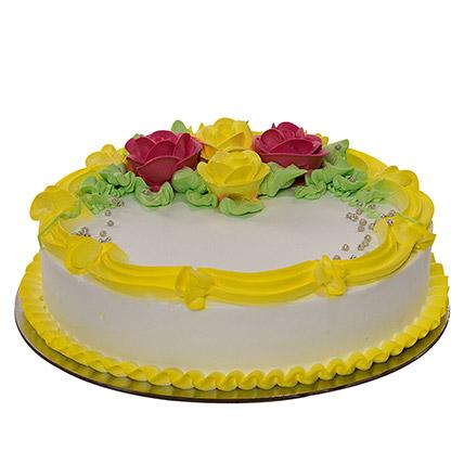 Tempting Vanilla Cake: