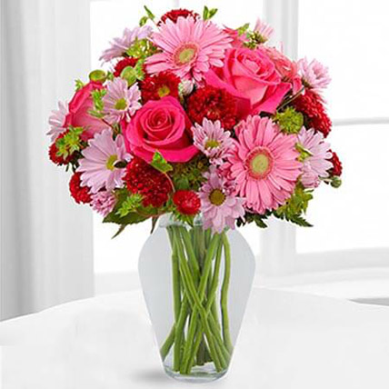 Color Your Day With Happines Bouquet: