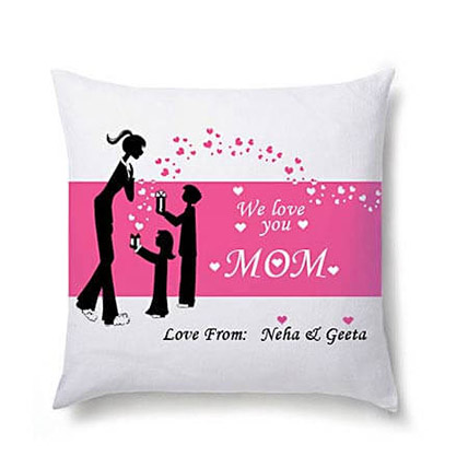 Comforting Personalised Cushion For Mom: Cushions for Mothers Day