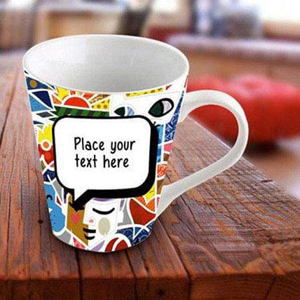 Personalized Vibrant Mug: Personalized Mugs Dubai