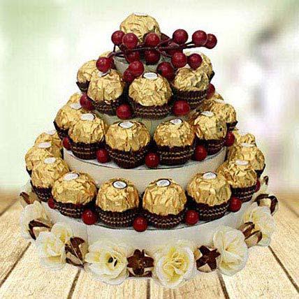 Chocolate Tower: