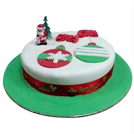 Santa Greetings Cake: Designer Cakes