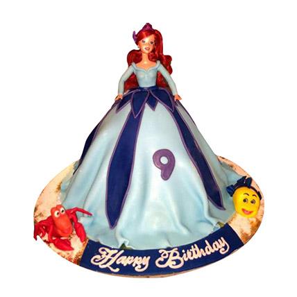 Lovely Doll Cake: