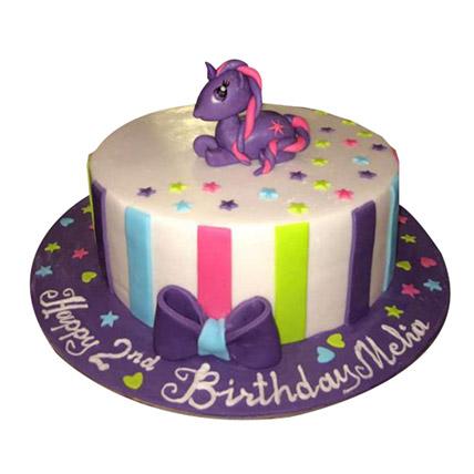 Mesmerizing Pony Cake: Little Pony Cake