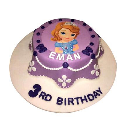 Princess Sofia Cake: Princess Cakes