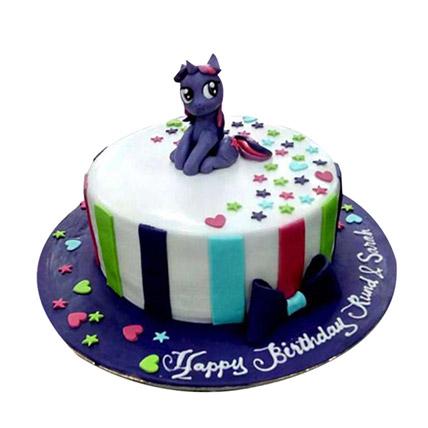 Cute Pony Cake: Little Pony Cake