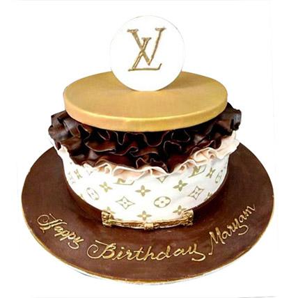 Louis Vuitton Cake: