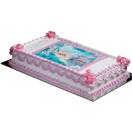 Cute Barbie Cake: Barbie Doll Cake