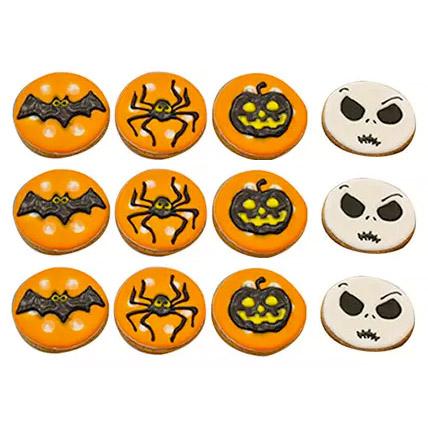 Halloween Assorted Cookies Set: