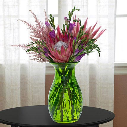 Enchanting Flower Vase: