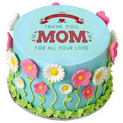 Thanks Mom Cake: Cakes for Mothers Day