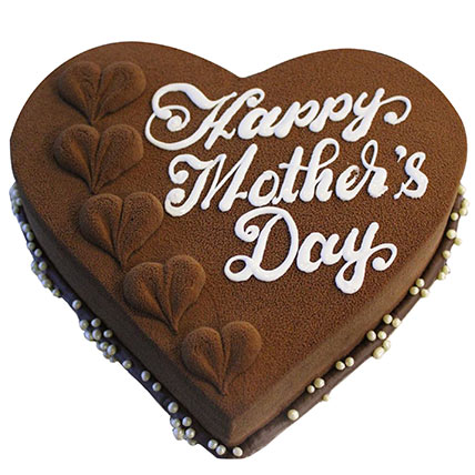 Mothers Day Chocolate Truffle: Happy Mothers Day Cake
