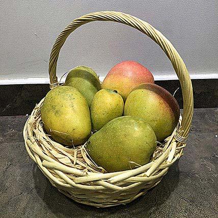 Mango Mix 4kg in a Basket: