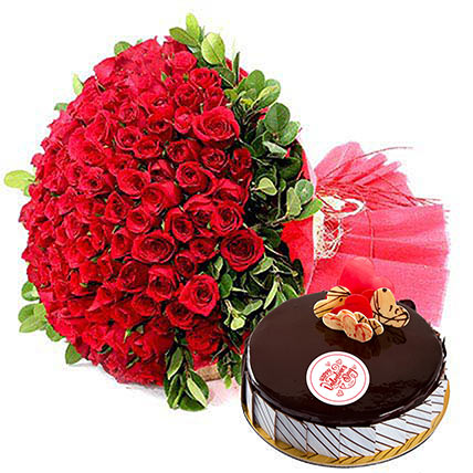Sweet and Fragrance: Valentine Flowers & Cakes