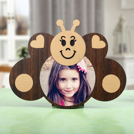 Personalized Butterfly Photo Frame: Childrens Day Gifts