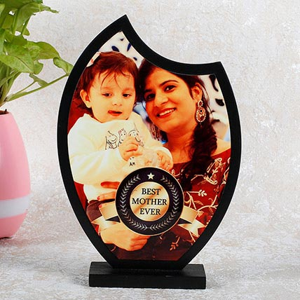 Personalized Wooden Trophy For Mom: Personalized Gifts for Mother's Day