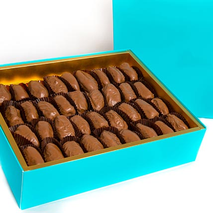 Box of Belgian Chocolate Dates: