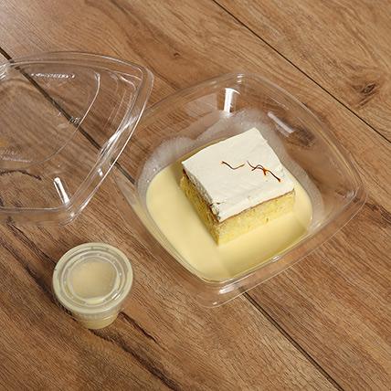 Toothsome Saffron Flavor Milk Cake: