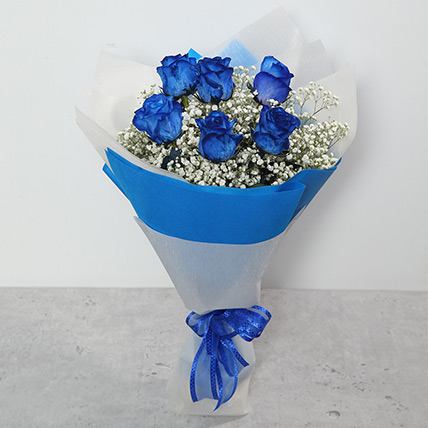 Bouquet Of Blue Roses: Gifts for Husband
