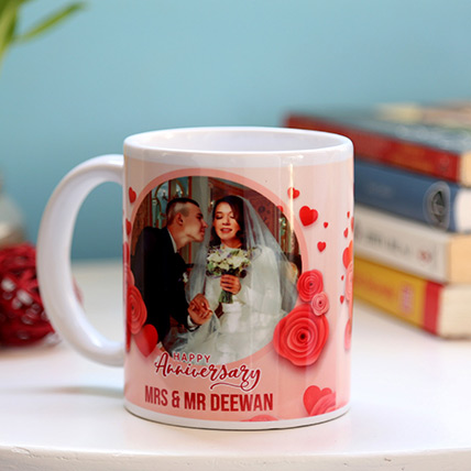 Personalised Anniversary Mug: Personalized Mugs Dubai