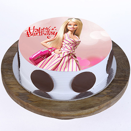 Stylish Barbie Cake: Princess Cakes