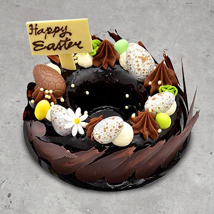 8 Portion Easter Nest Cake: 3D Cakes Dubai