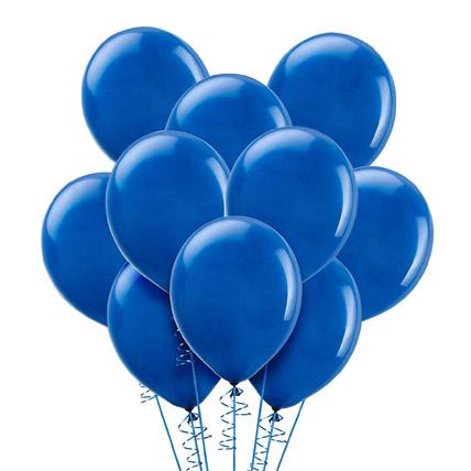 Blue Helium Balloons: Helium Balloons Dubai