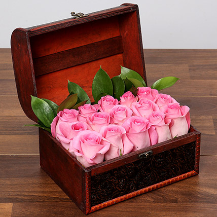 Pink Imagination: Flower in a Box