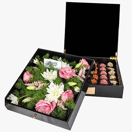 Delicious Box Of Stuffed Dates 36 Pcs: Premium Gifts