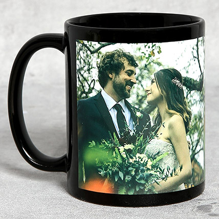 Classic Black Personalised Mug: Personalized Gifts