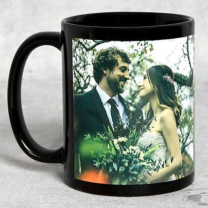Classic Black Personalised Mug: Personalized Mugs Dubai