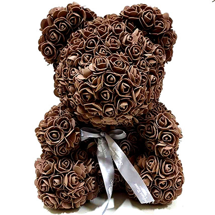 Artificial Brown Roses Teddy: Unique Gifts Dubai